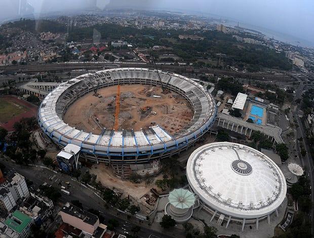 maracana stadium demo