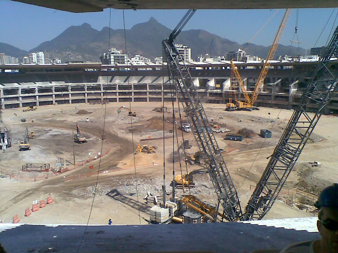 concrete stadium removal