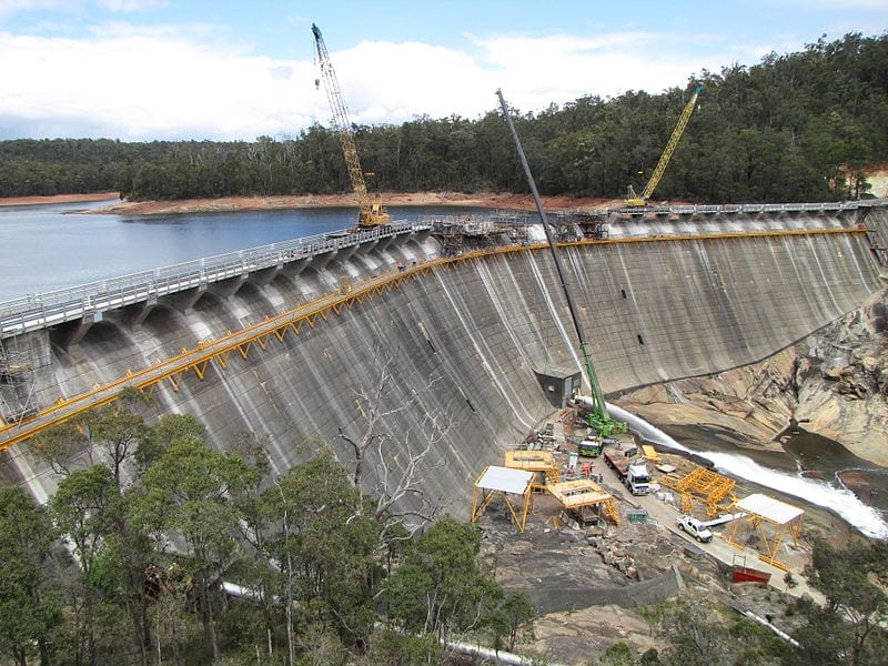 wellington dam demolition