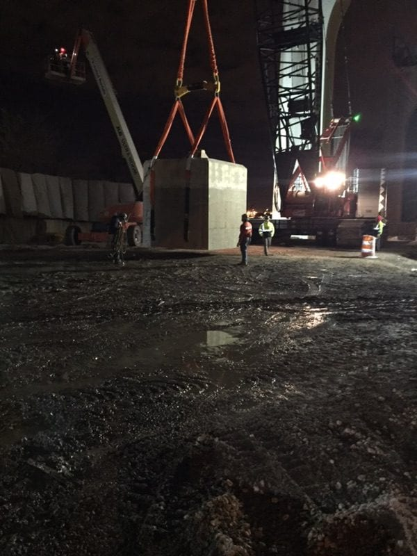 bridge removal sections