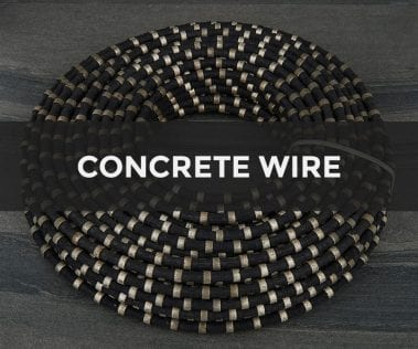 concrete wire rope