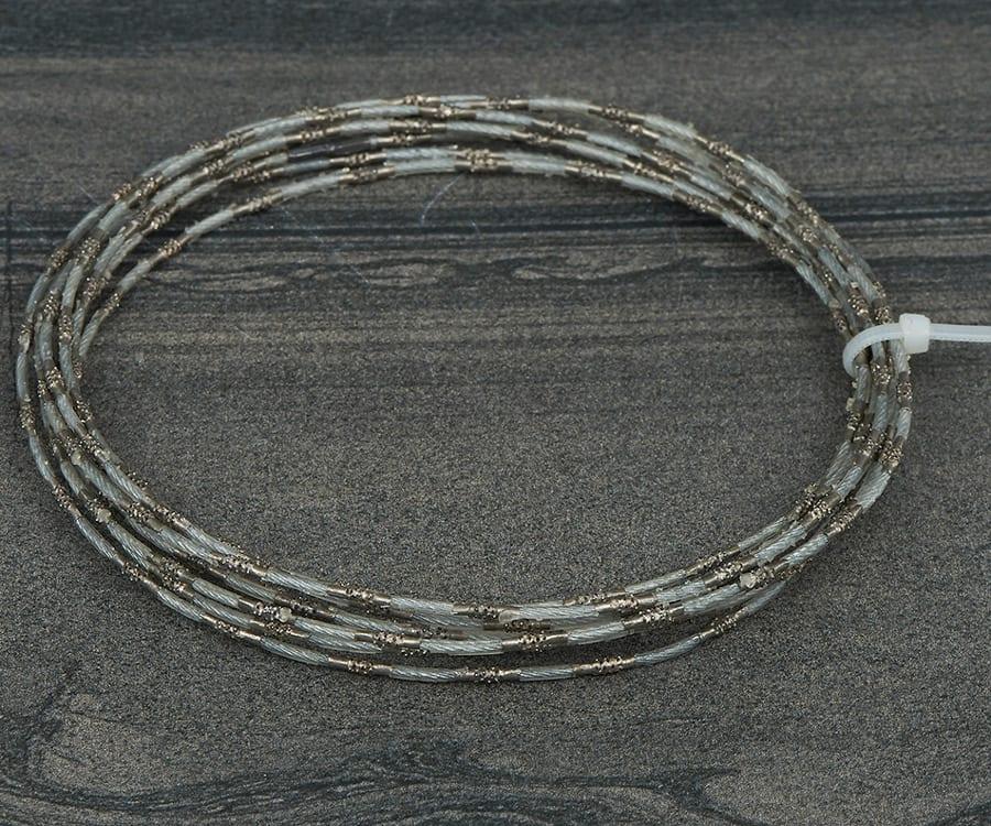 Concrete diamond wire cutting